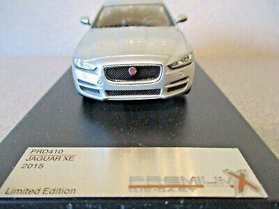 Premium X PRD410 1:43 2015 JAGUAR XE SALOON Silver....nice