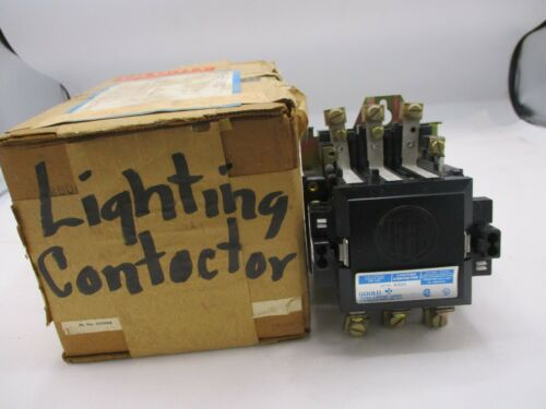NEW ITE GOULD A133C LIGHTING CONTACTOR 30 AMP 220/240V COIL