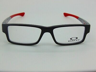 OAKLEY Junior AIRDROP XS OY8003-0448 Polished Black 48mm Kids Rx Eyeglasses