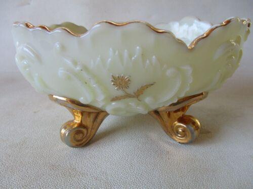 antique custard glass bowl louis XV dessert northwood eapg berry excellent