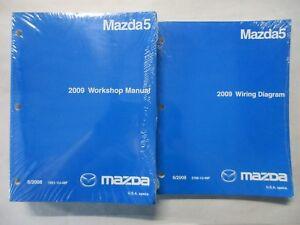 2009 MAZDA5 SERVICE WORKSHOP REPAIR MANUAL & WIRING DIAGRAMS SET