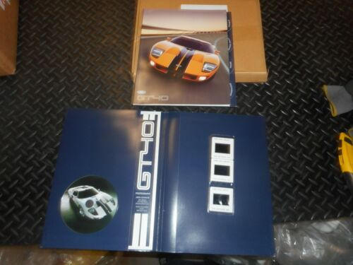 Ford GT Concept Car Press Kit 2005 2006 GT 40 owners dealer promo 05 06 owners