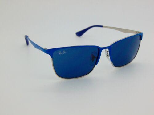 New Ray Ban Jr. Aviator RJ 9535S 244/80 Blue/Silver Kids 51mm Sunglasses