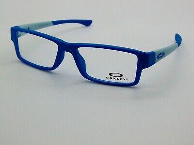 OAKLEY Junior AIRDROP XS (A) OY8006-0652 Satin Electric Blue Kids Rx Eyeglasses