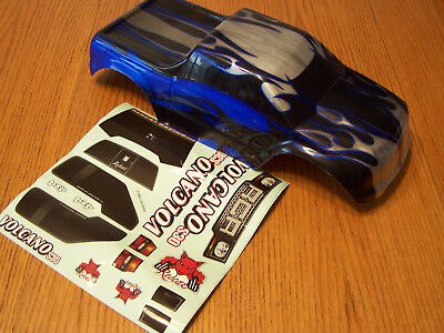 NEW Redcat Racing 1/10 Volcano EPX, EPX Pro, Nitro S30 Blue Black RC Truck Body