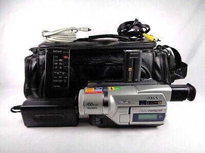 Sony DCR-TRV120 Digital8 8mm Video8 HI 8 Camcorder Video Transfer Bundle Tested