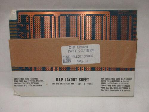 Compatible VERO Terminal Wirewrap DIP Layout Socket Circuit Board, 11824, 11825