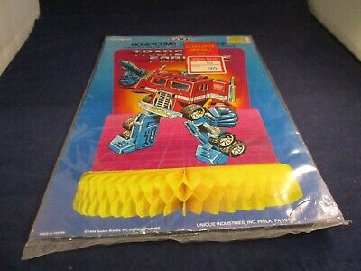 Transformers Honeycomb Birthday / Dinner Party Decoration Centerpiece New! 1984