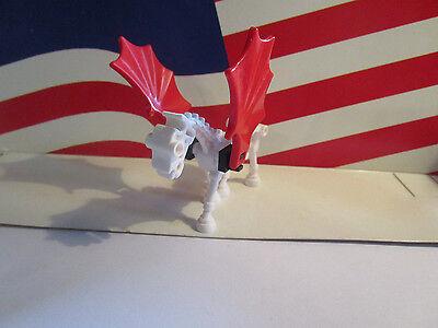 LEGO SKELETON/SKELETAL HORSE WHITE/RED WINGS HARRY POTTER/CASTLE,HALLOWEEN](Halloween Skeleton Horse)