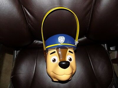 Paw Patrol Chase Detailed Halloween Bucket Easter Basket NEW LAST ONE  (Paw Patrol Halloween Bucket)