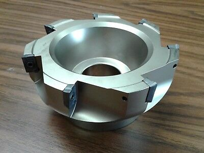 5 90 Degree Indexable Face Shell Millface Milling Cutter Apkt Z-2526-4035