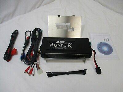 J&M ROKKER SERIES 500W 4 CHANNEL AMP KIT