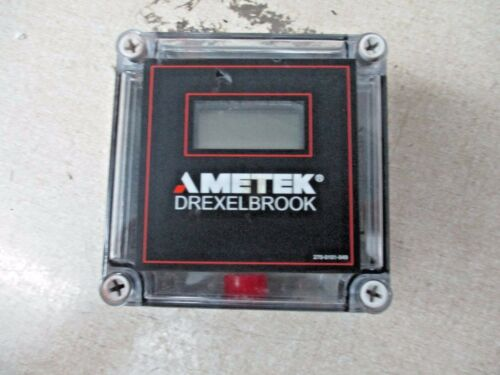 AMETEK DREXELBROOK 370-4000 SERIES DIGITAL LOOP METER, #1231912R NEW