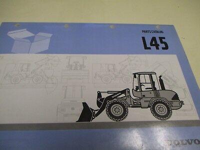 Volvo L45 Wheel Loader Parts Catalog Manual
