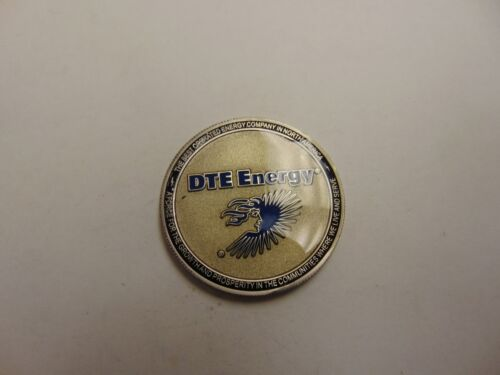 CHALLENGE COIN DTE ENERGY WORKPLACE TRANSFORMATION INITIATIVE BEST OPERATED