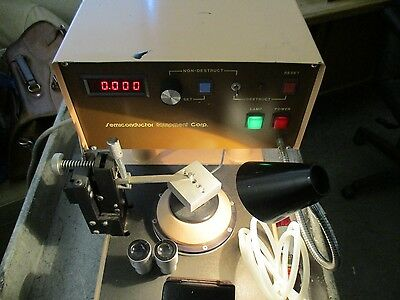 Semiconductor Equipment Corp. Model 6000 With Bl Stereozoom 4 10 X W.f. Eye