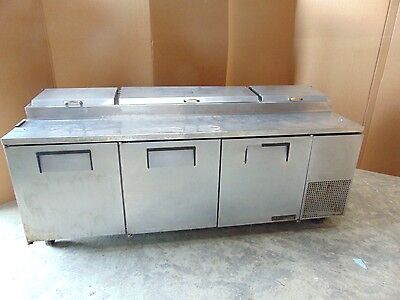 True Commercial 3 Door Refrigerated Prep Table Mr14x