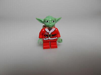 Lego® Star Wars Minifigur Yoda im Weihnachtskostüm aus Set 852555