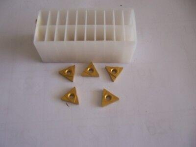 Tnma-32 Ngr Tin Coat Carbide Inserts Usa 10 Pc Lot New