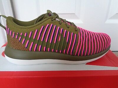 Nike Roshe Two Flyknit wmns trainers sneakers 844929 300 uk 5.5 eu 39 us 8 NEW
