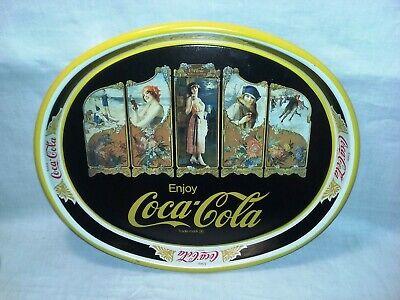 Coca Cola Tray Shasta Dam Sacramento River Limited Edition of 2000 Preowned