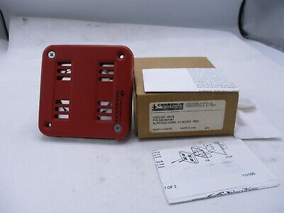 New Cerberus Pyrotronics Hn-s Red Surface Fire Alarm Horn 21 30 Vdc