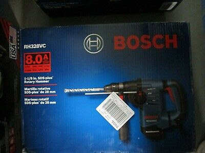 Bosch Rh328vc 8 Amp Corded Variable Speed Rotary Hammer Drill Brand New