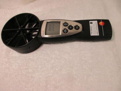 Testo 417 Rotating Vane Anemometer Velocity / Air Flow / Temperature
