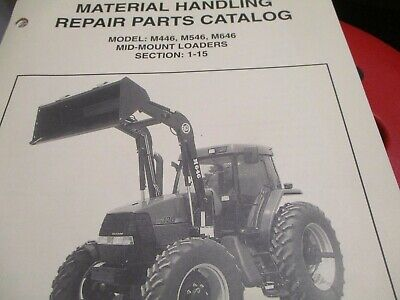 Bush Hog M446 M546 M646 Mid Mount Loaders Parts Catalog Manual
