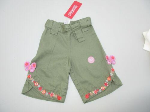 Gymboree Tea Garden Butterfly Flower Capri Pants Size 6-12 Month NWT