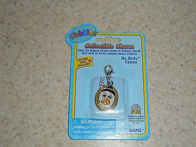 WEBKINZ Collectible Charm w/ code Ms Birdy Cameo