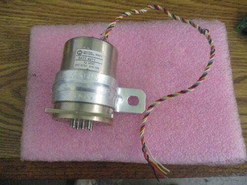 Dow-Key Microwamve Model: 541Y-4211 Coxial Switch <