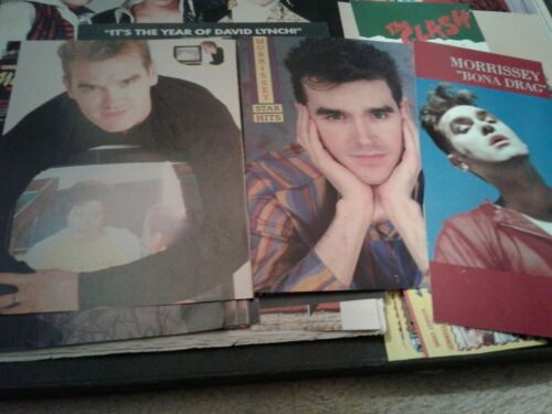 Vintage Morrissey The Smiths Clippings Longbox Cover