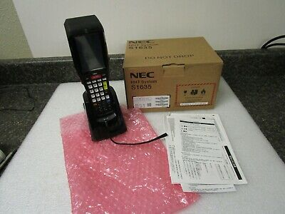 New Nec Hht System S1635 -01 Portable Data Terminal Barcode Scanner -no Battery