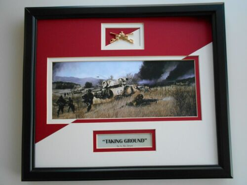 """ARMORED CAVALRY""  by Ric Druet  framed art"