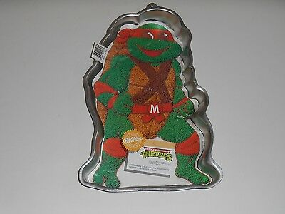 1989 Wilton TMNT Teenage Mutant Ninja Turtles CAKE Decorating PAN Mold 2105-3075 (Ninja Turtle Cake Pan)