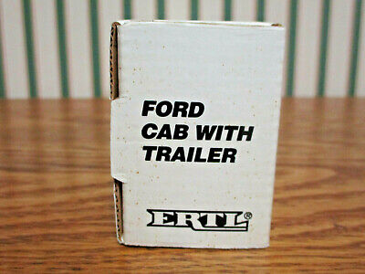 Ottilie Seed Ford Semi With Van Trailer By Ertl 1/64th Scale 9