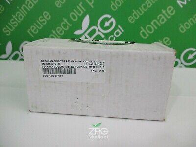 Beckman Coulter A55539 Pump Liq Metering 0.1 Mlrev