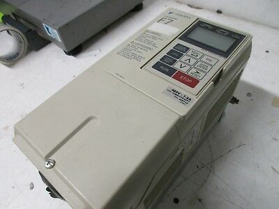 Yaskawa Varispeed F7 Drive 480v-7.6a Cimr-f7u43p7 Used