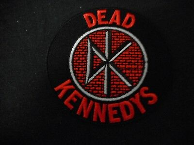 DEAD KENNEDYS LOGO - EMBROIDERED PATCH