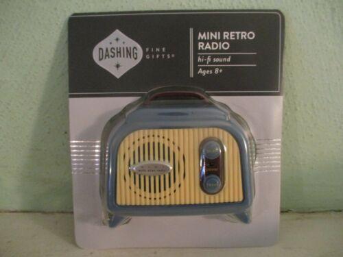 Dashing Fine Gifts - mini retro radio with hi-fi sound (FM only) Walgreen