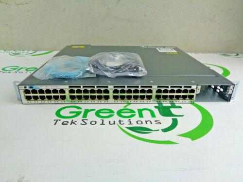 Cisco Catalyst WS-C3750X-48PF-L 48-Port Gigabit PoE Switch w/ 1x 1100WAC PSU