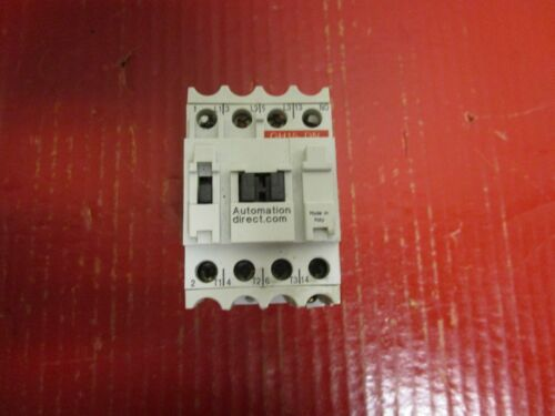 AUTOMATION DIRECT CONTACTOR GH15DN 25A  AMP 600Vac 110-120V COIL
