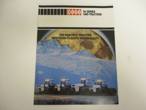 Case 94 Series 4WD Tractors Sales Brochures  !