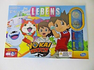 Hasbro Das Spiel des Lebens Yo Kai Watch Gesellschaftsspiel B6493 ()