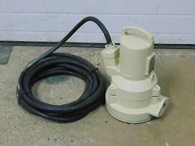 Abs 2.4 Hp Electric Sump Grinder Pump 230v 1 Phase