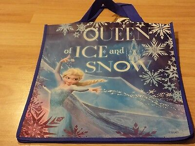 Disney Frozen Tote Halloween Gift Bag Party Favor Elsa Queen of ICE and Snow New - Elsa Halloween Bag