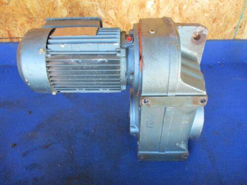 Sew-Eurodrive F67DT88K4 Gearmotor Gear Drive  8.7 RPM  5440 InLb Torque 195.39:1