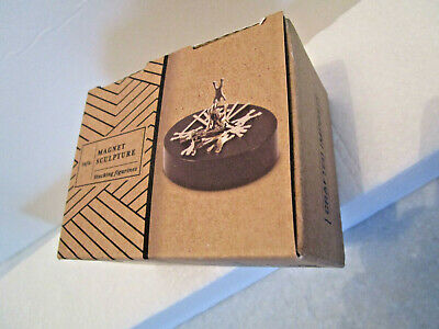 Interactive MAGNETIC ART SCULPTURE w/ BASE . Boxed Gift - Me