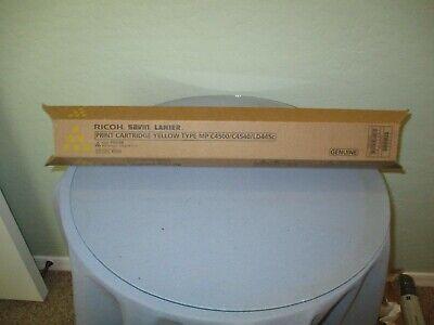 Genuine Ricoh Savin Lanier Mp C4500 C4540 Ld445c Yellow Toner Cartridge New